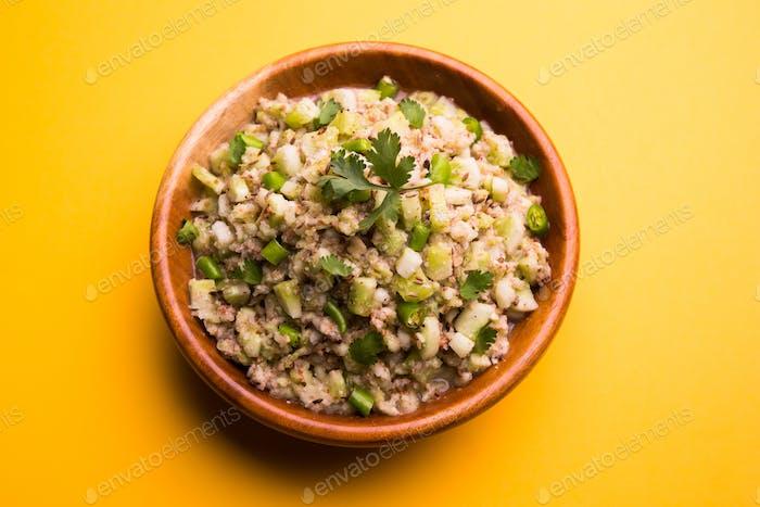 Cucumber Salad / Kakdi Koshimbir