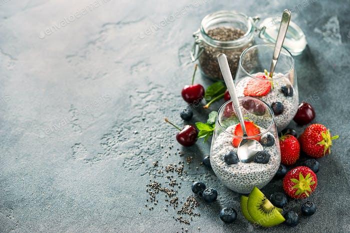 Chia Pudding Vegan Breakfast
