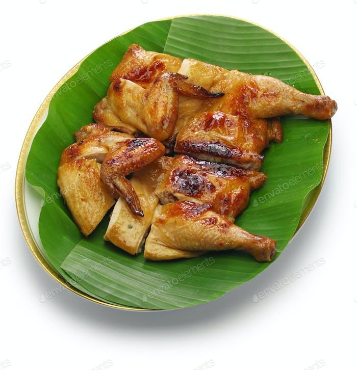 Gai Yang, gegrilltes Huhn im thailändischen Stil