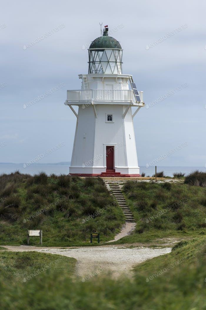 54673,Lighthouse, Waikawa Point, New Zealand