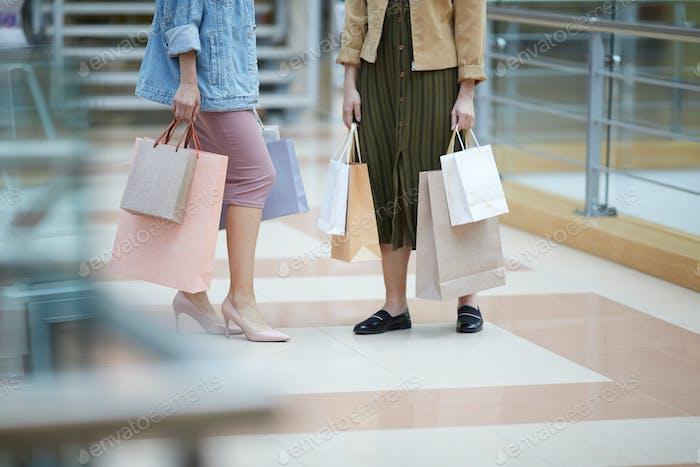 Einkaufen mit Stylisten
