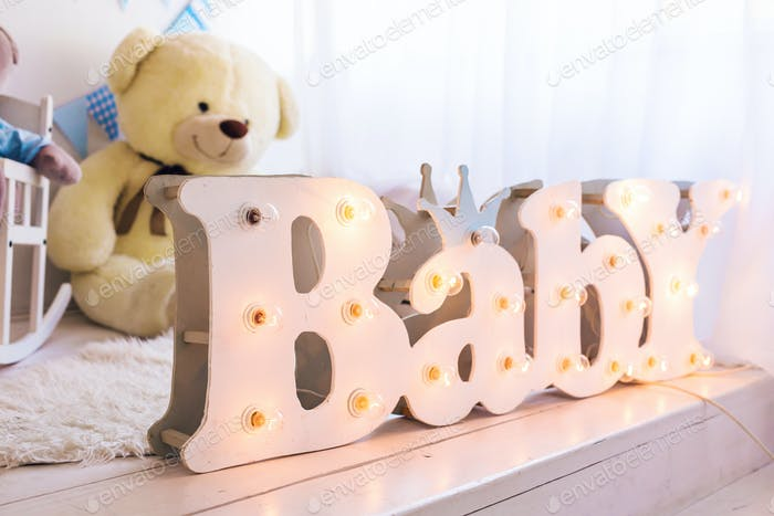 word baby in the bedroom
