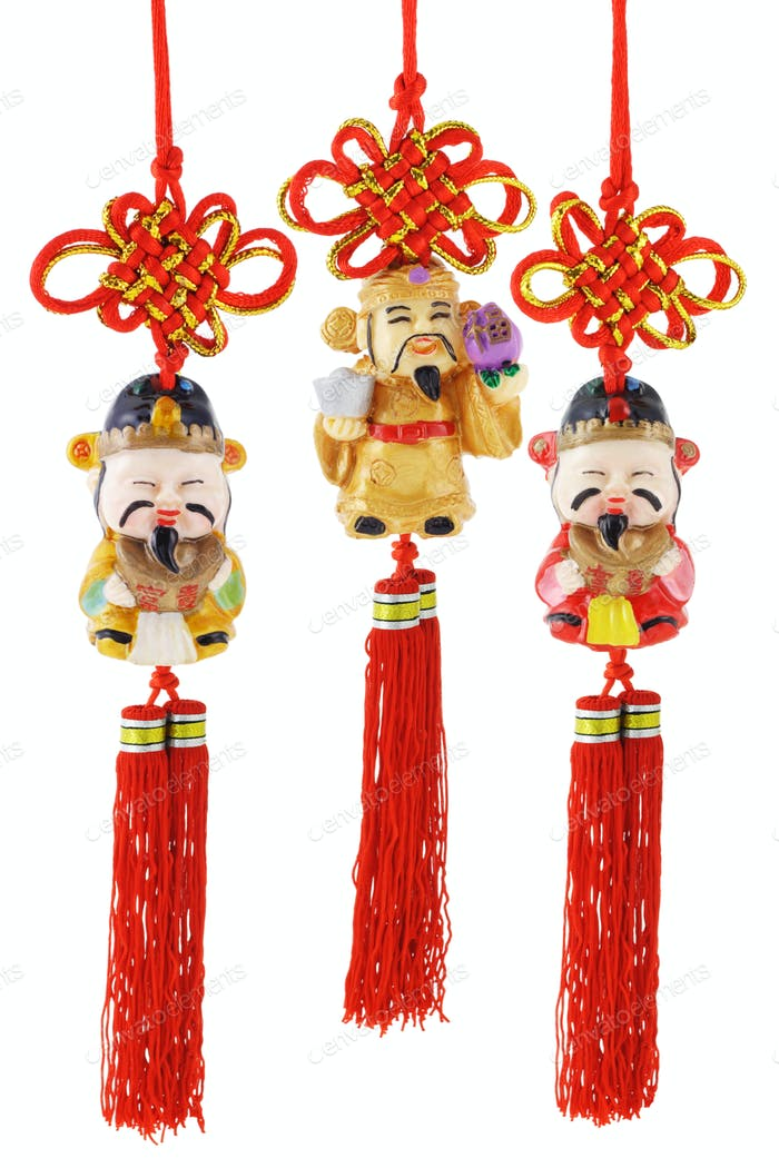 Chinese prosperity figurines