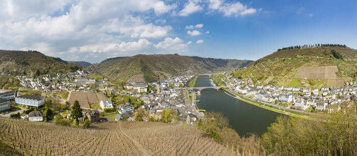 Cochem And Moselle Panorama, Germany