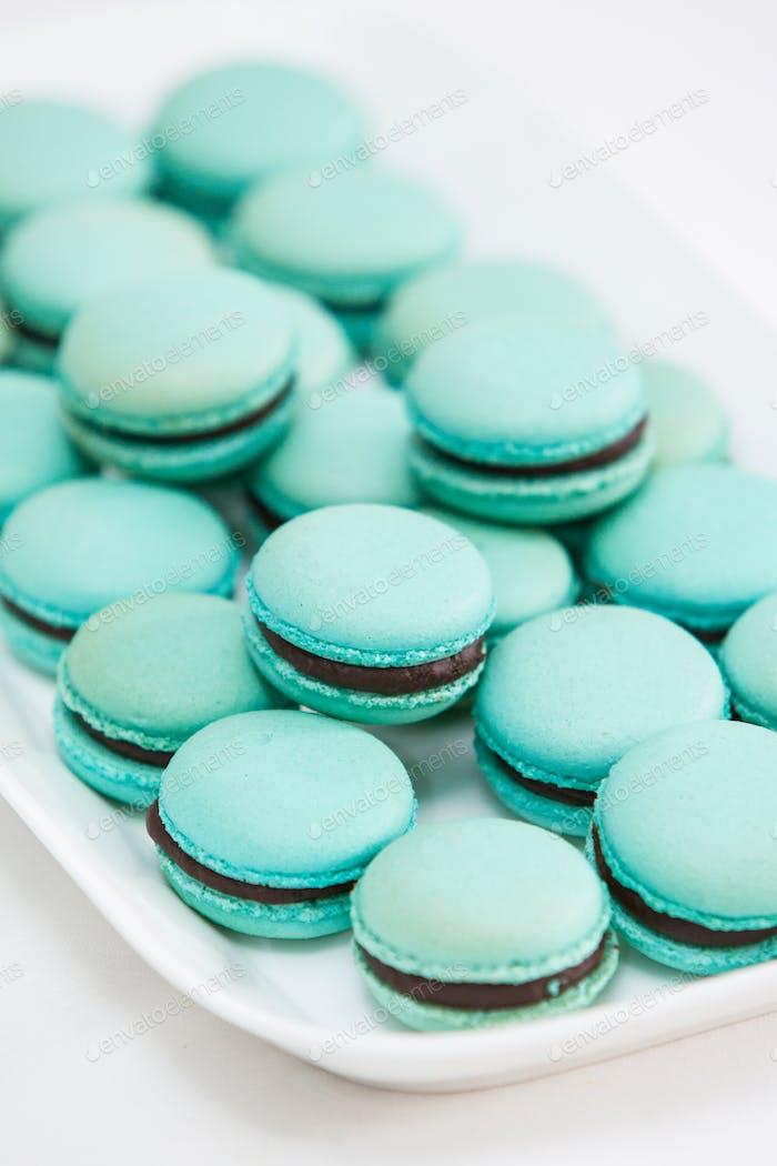 Assortment of Macarons