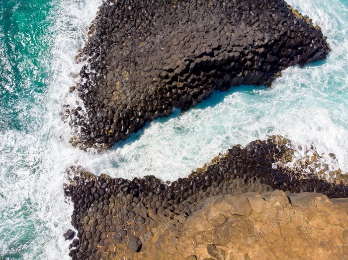 Fingal Head Rocks