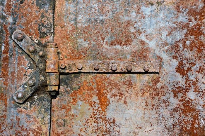 Türdetails aus rostfreiem Metall