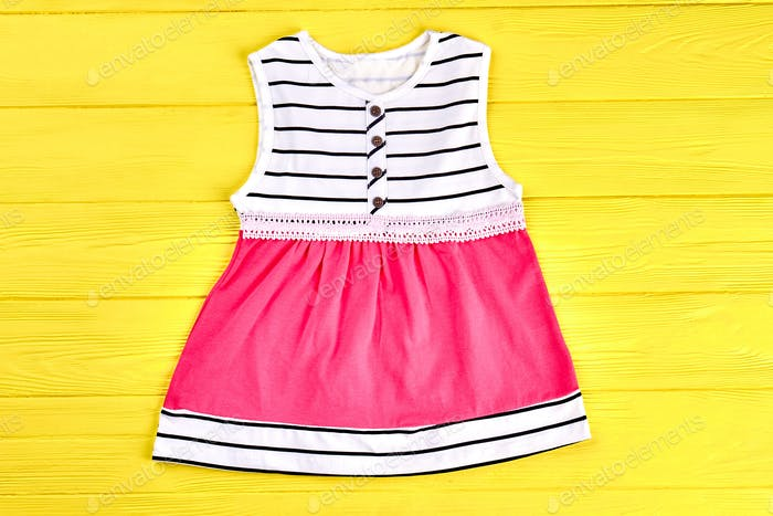Baby-girl modern summer dress