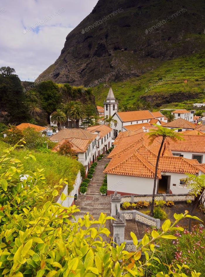 Sao Vicente on Madeira