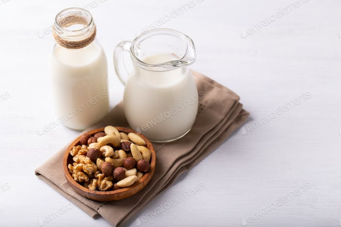 Natural non dairy milk