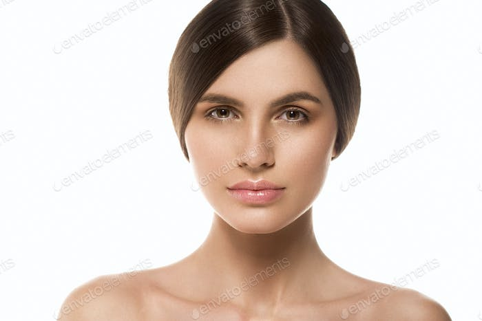 Woman beautiful skin healthy beauty face spa