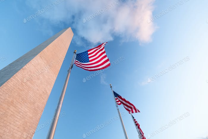 Monumento a Washington en Washington DC, Estados Unidos de América, Estados Unidos