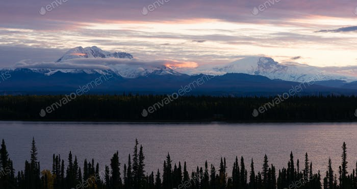 Mt Blackburn Willow Lake Wrangell-St Elias National Park