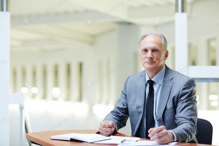 Direktor des Unternehmens