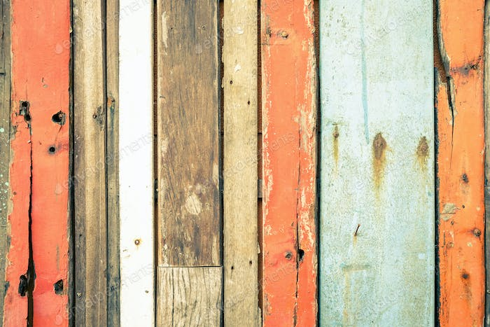 Wooden background and alternative construction material