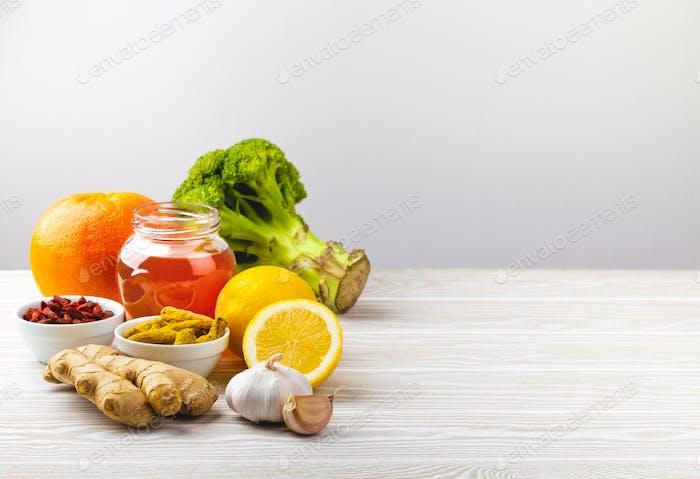 Nahrung für das Immunsystem