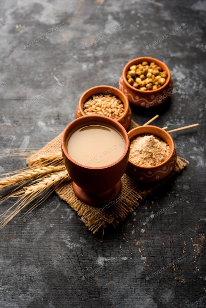 Sattu ist ein Superdrink aus dem indischen Subkontinent
