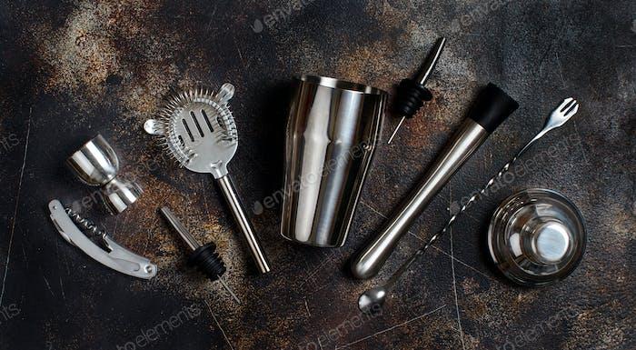 Bartender tools for cocktail making