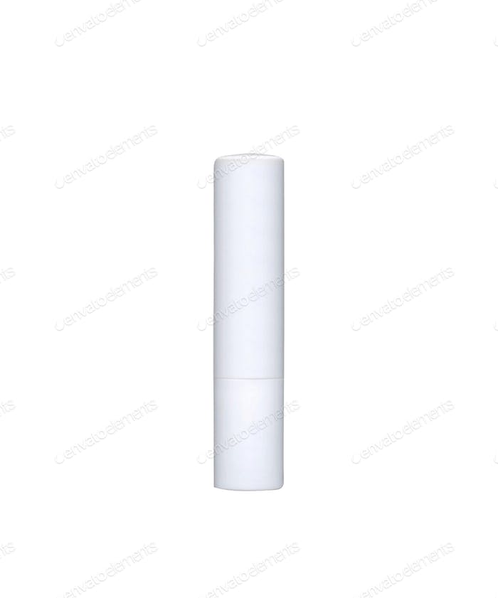 Chapstick isolated on white