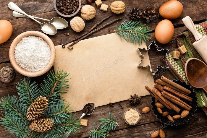 kulinarischen Hintergrund für das Rezept des Weihnachtsbackens