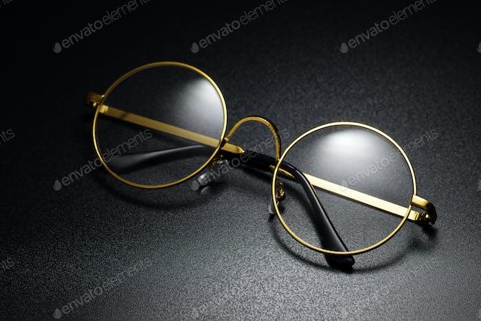 Klassische runde Brille