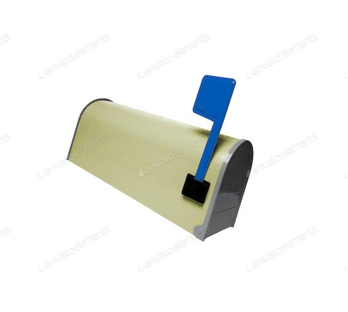 Mailbox isolated on white background