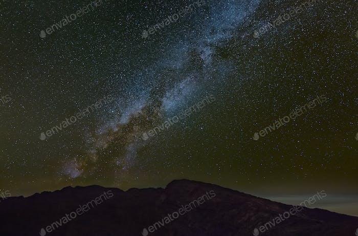 Milkyway Above La Palma Caldera