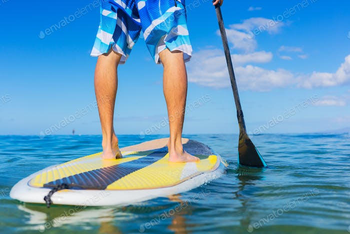 Thumbnail for Man on Stand Up Paddle Board