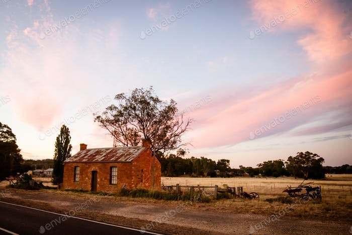 Traditionelles Goldfields-Anwesen in Victoria Australien