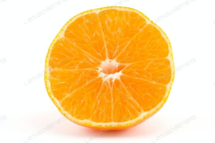 a slice of mandarin or tangerine