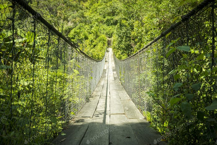 Suspension Bridge Guatemala