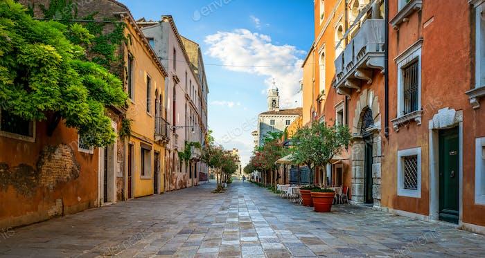 Straße in Venedig
