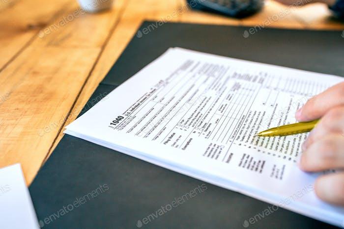U.S. Individual Income Tax Return 1040