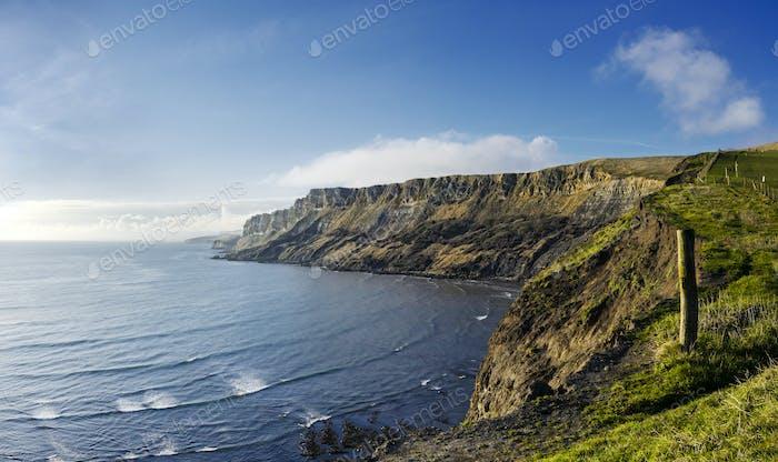 Gad Cliff on Dorset's Jurassic Coast