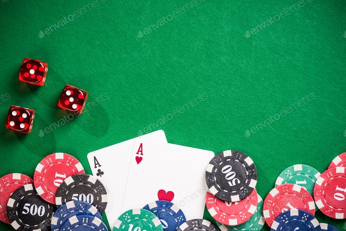 Poker and casino gamlbing header