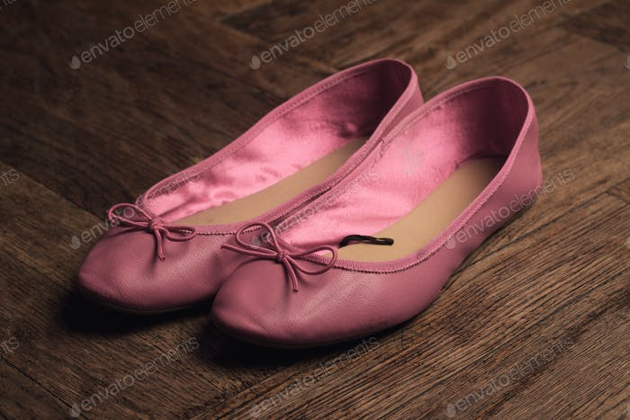 pink ballerina shoes