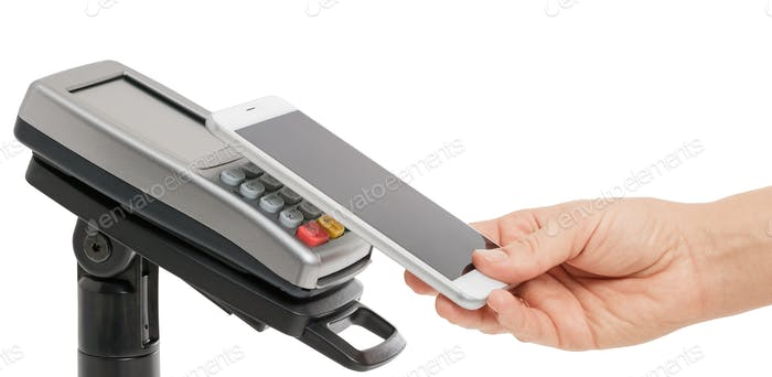 Contactless payment with NFC technology