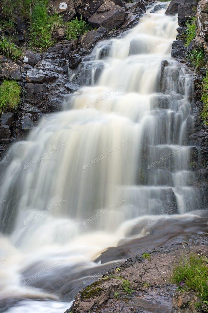 Waterfall in Scotland