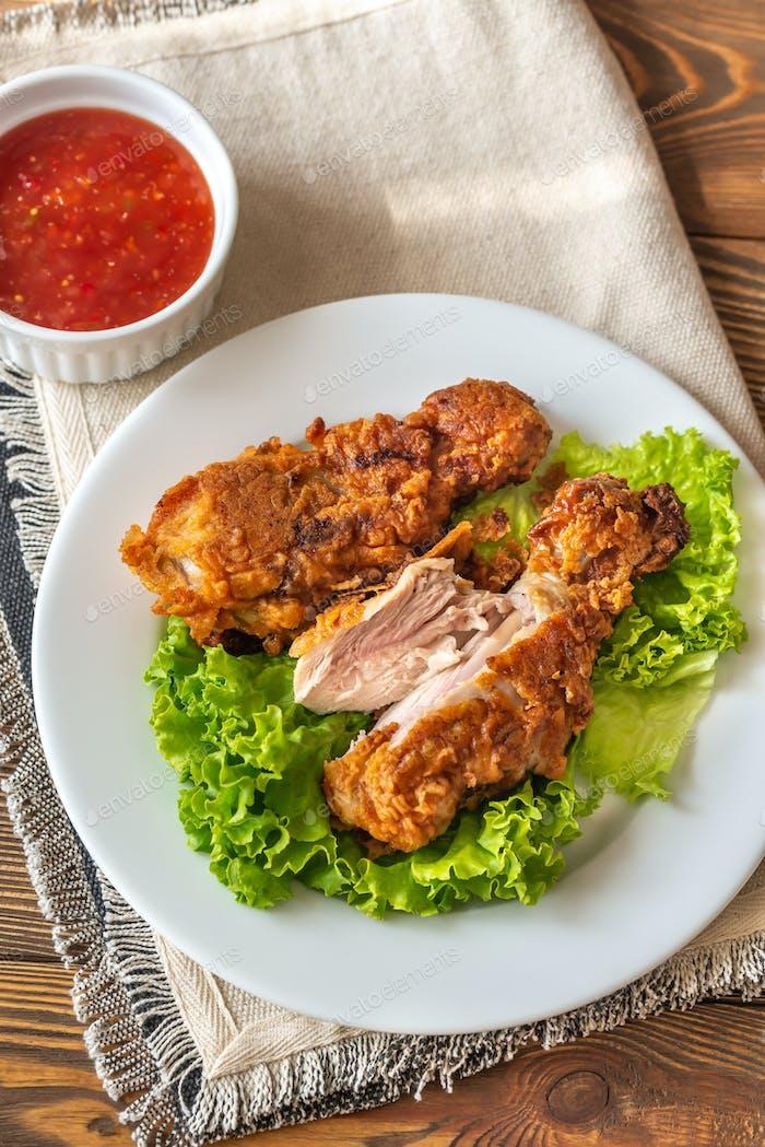 Buttermilk Fried Chicken Drumsticks