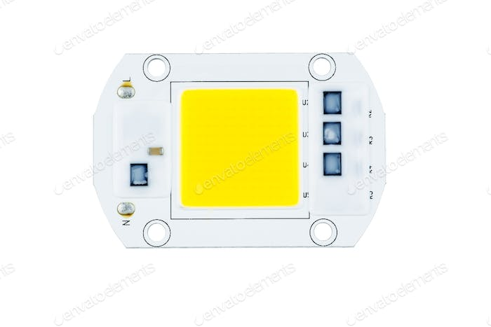 High power SMD white lighting LED assembly