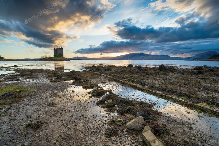 Castle Stalker in Scotland