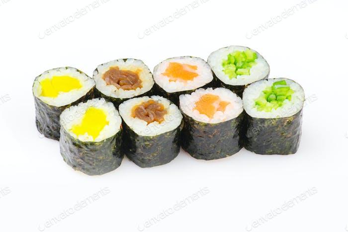 Sushi maki set