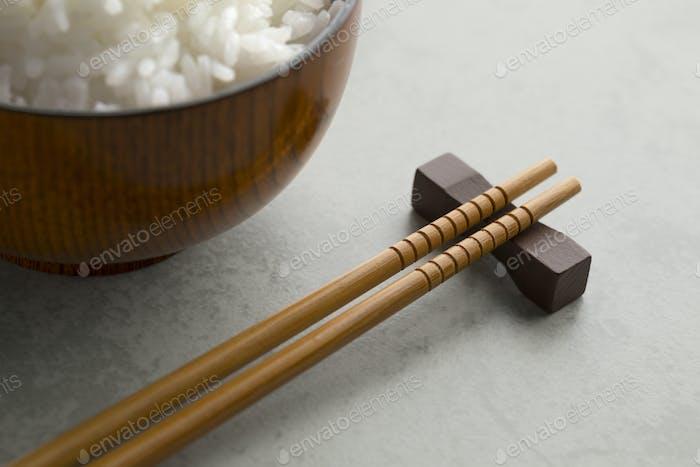 Traditional Japanese wooden chopsticks