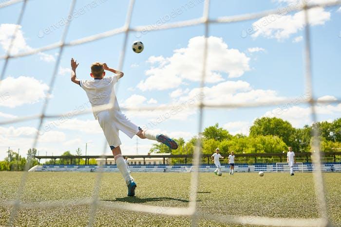 Teenage Goalkeeper