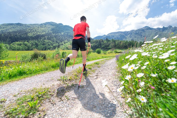 Nordic Walking preparation for ultra trail