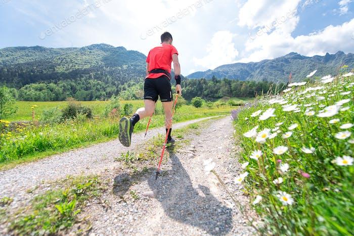 Nordic Walking Vorbereitung auf Ultra Trail