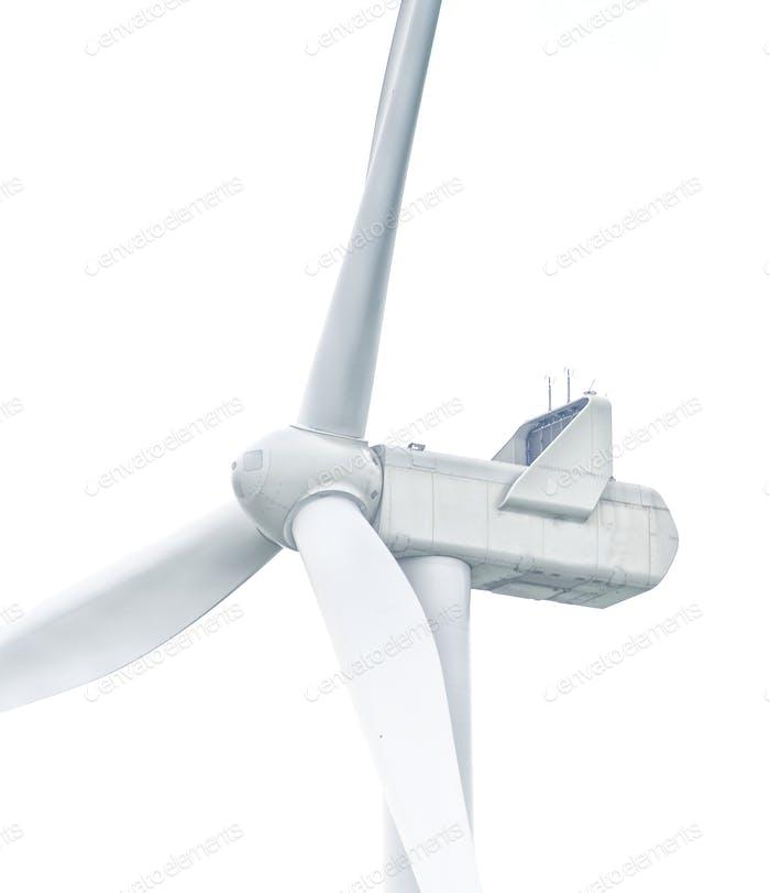 wind turbine isolated