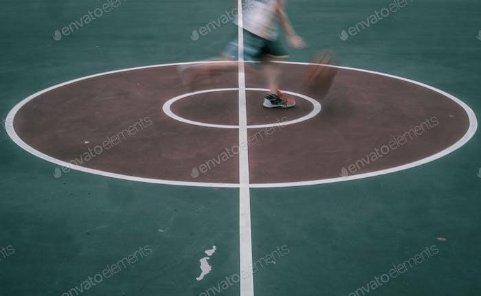 Basketball Blur