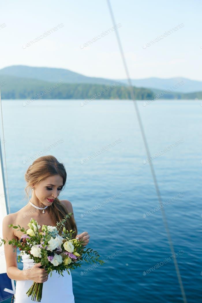 Romantische Braut