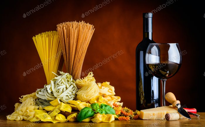 Red Wine and Pasta